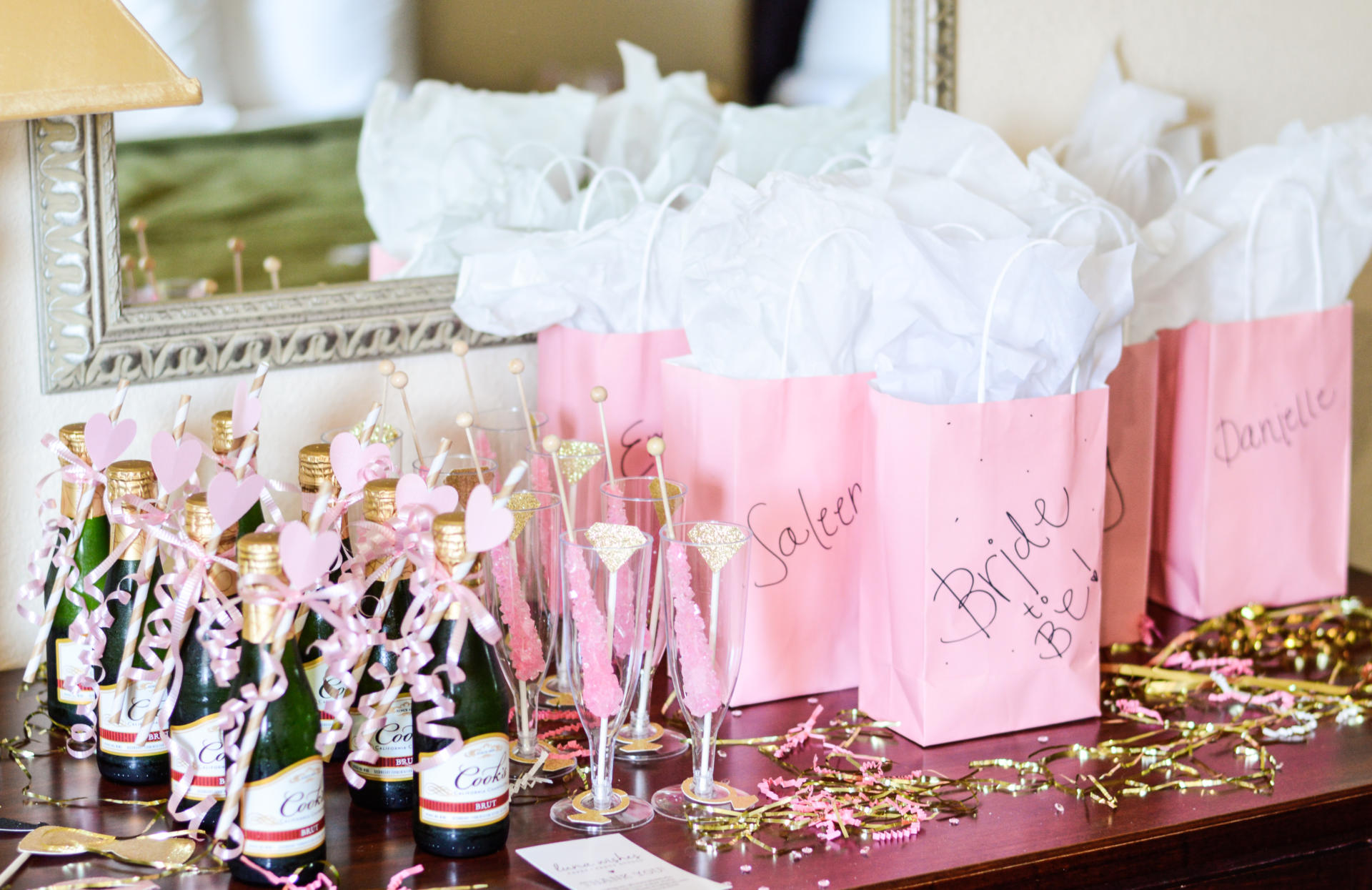 Bachelorette Party Goody Bags Drinks