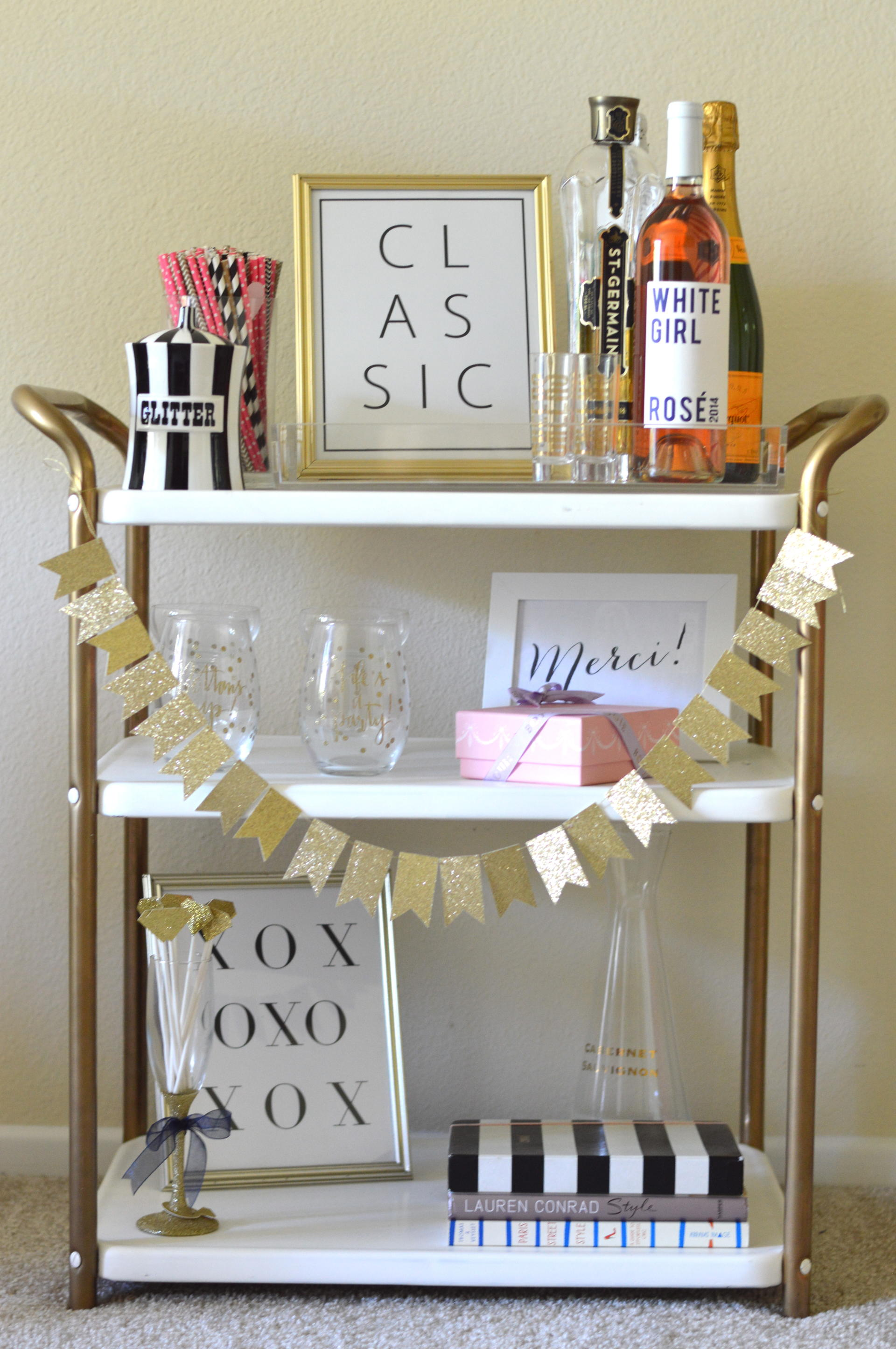 Brand new Styling a Bar Cart | Blonde Collective: Life & Style Blog by  NH06