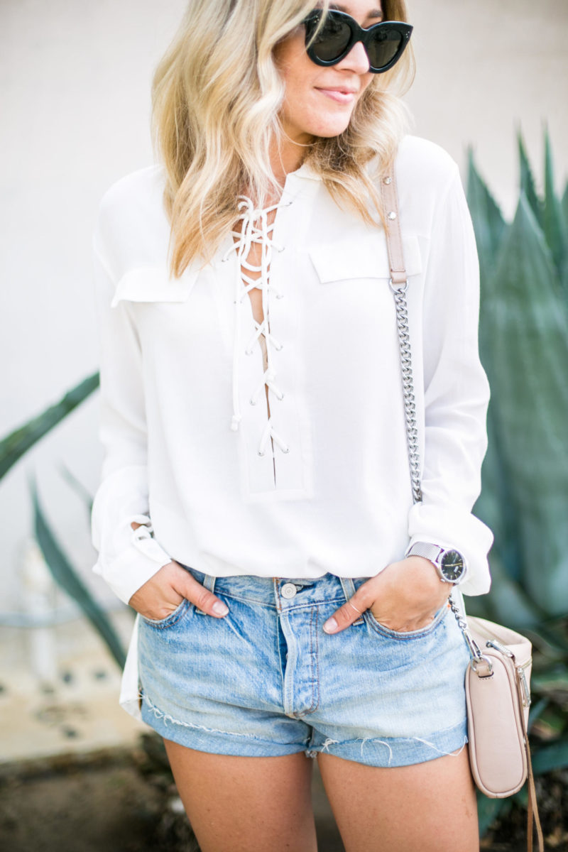 lace up top lulu's