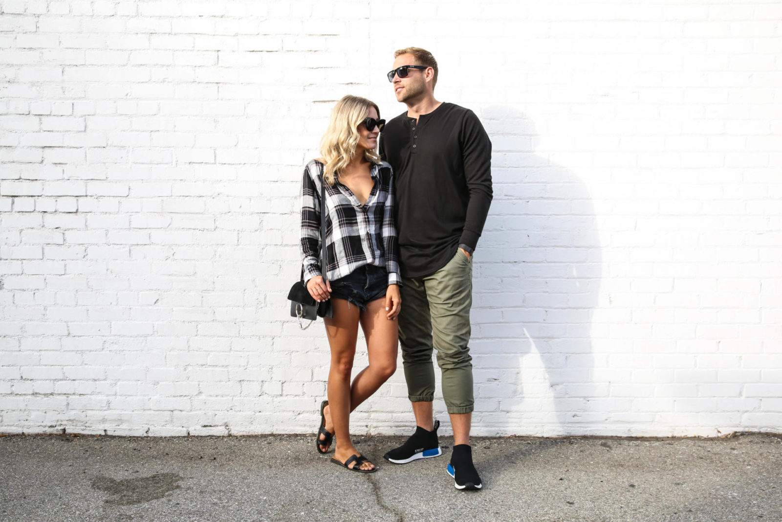 Him + Her: The Perfect Flannel, Shoe Hunting, and Olive Pants