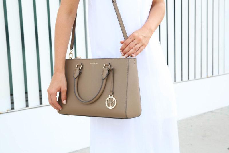 brown fall bag