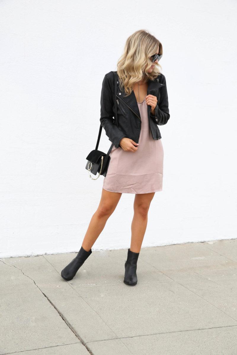 pink-satin-dress
