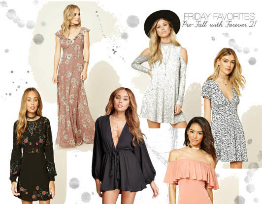 Friday Favorites: Pre-Fall with Forever 21