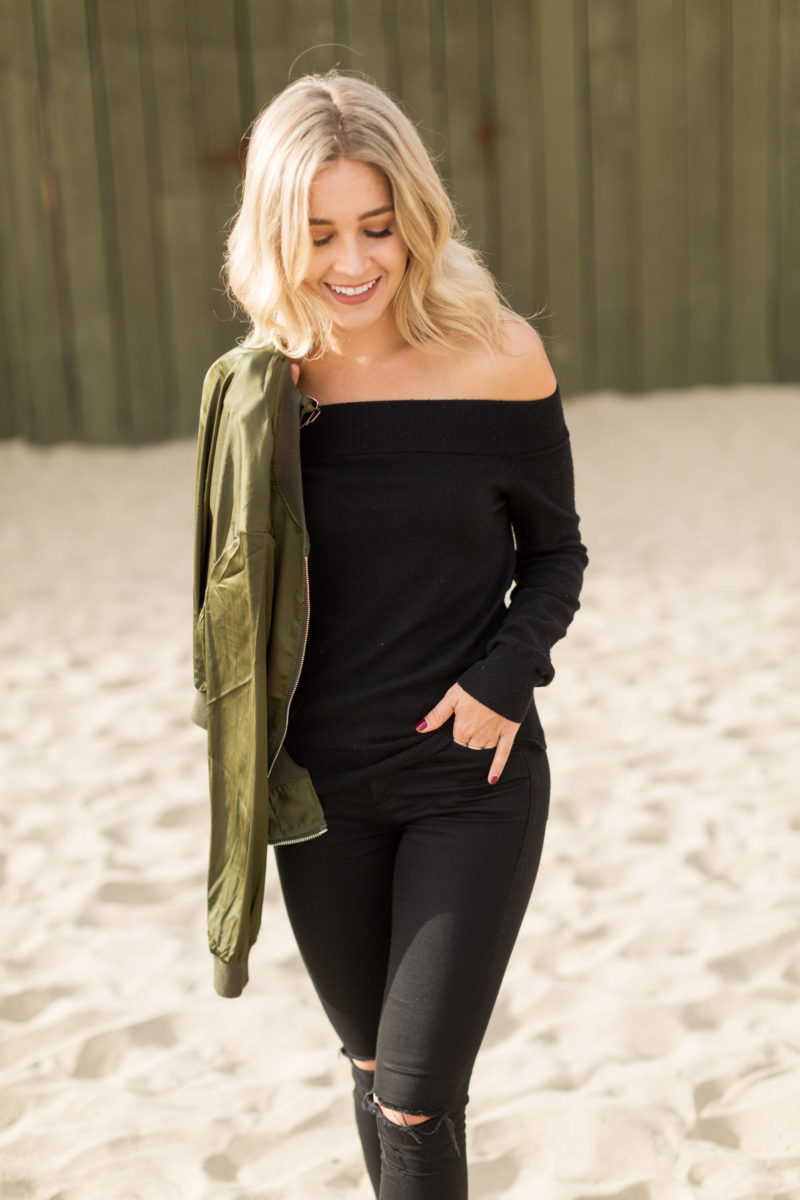 Off-The-Shoulder Sweater | Blonde Collective | a lifestyle blog by ...