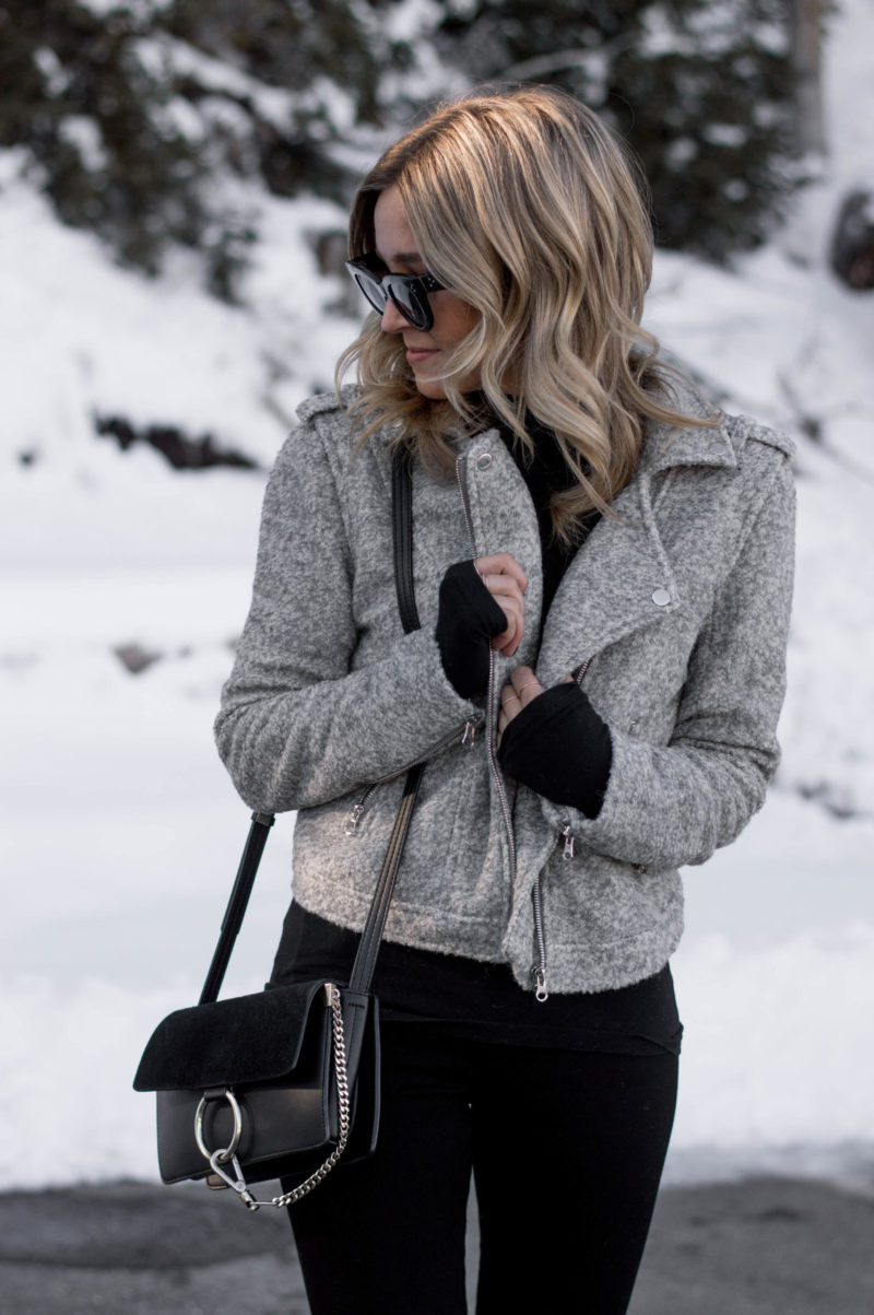 how to dress cute in the snow
