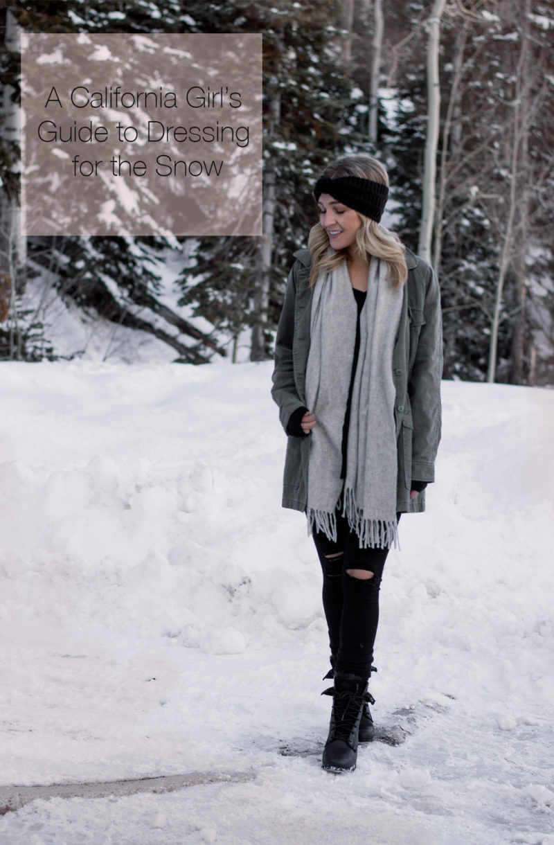 four tips for dressing in the snow