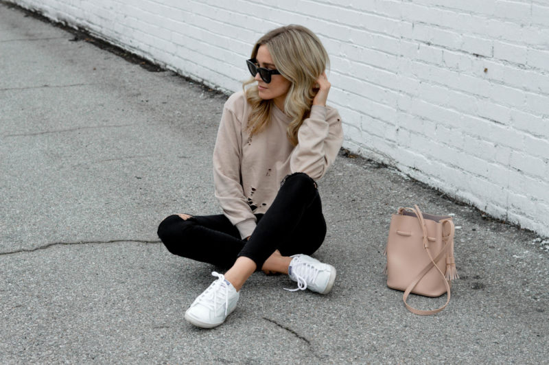 nude cropped sweater