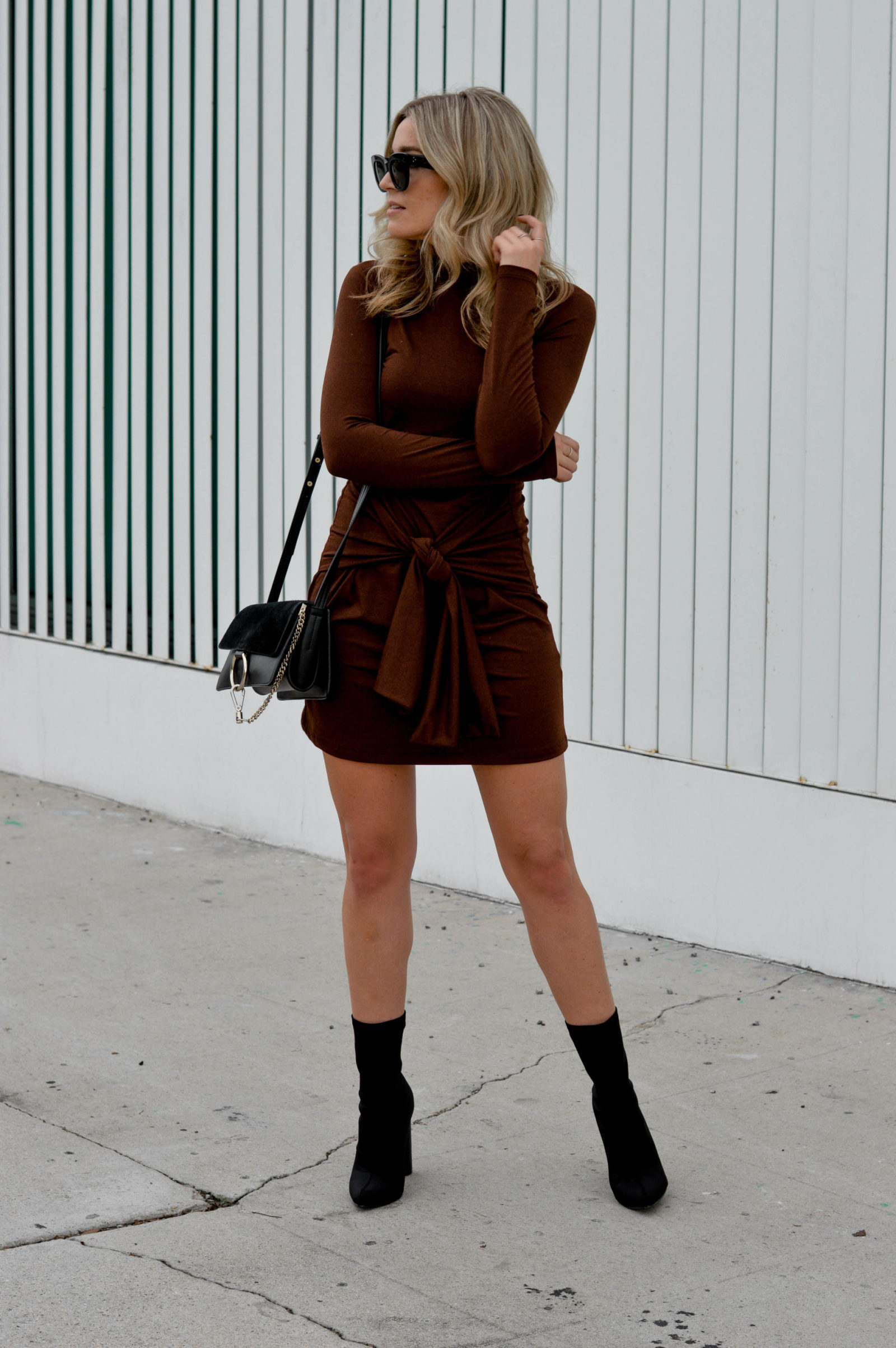 The Perfect Tie-Front Dress