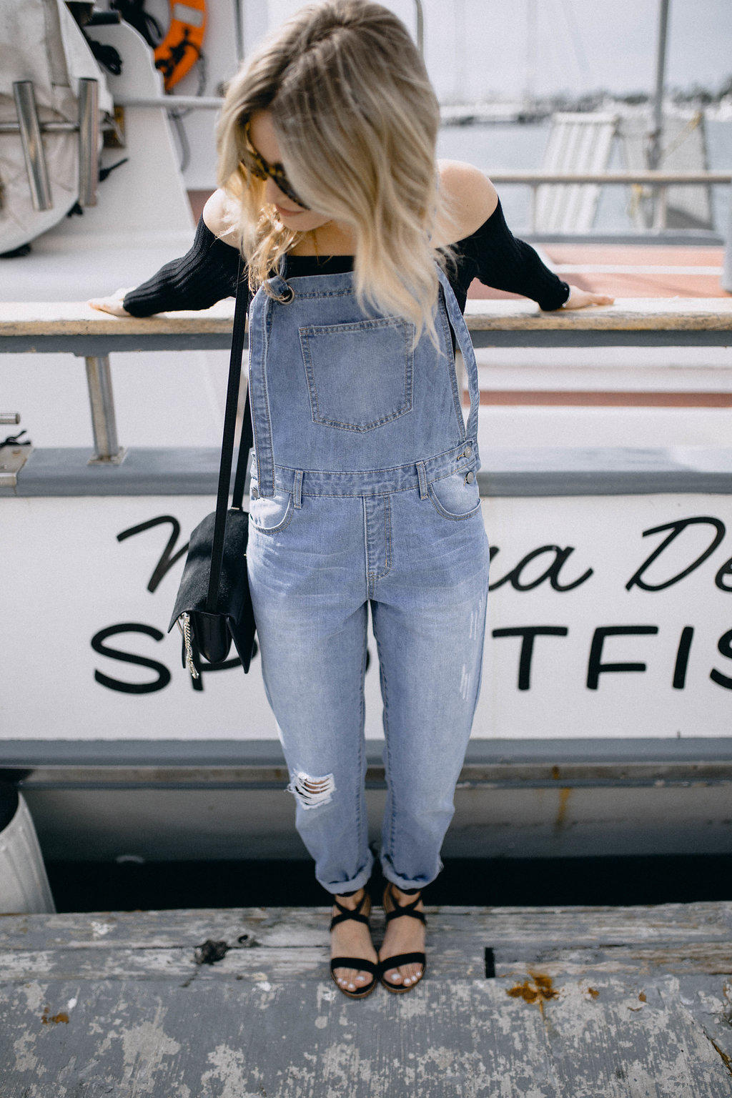 dressing up overalls