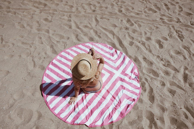 circle towel
