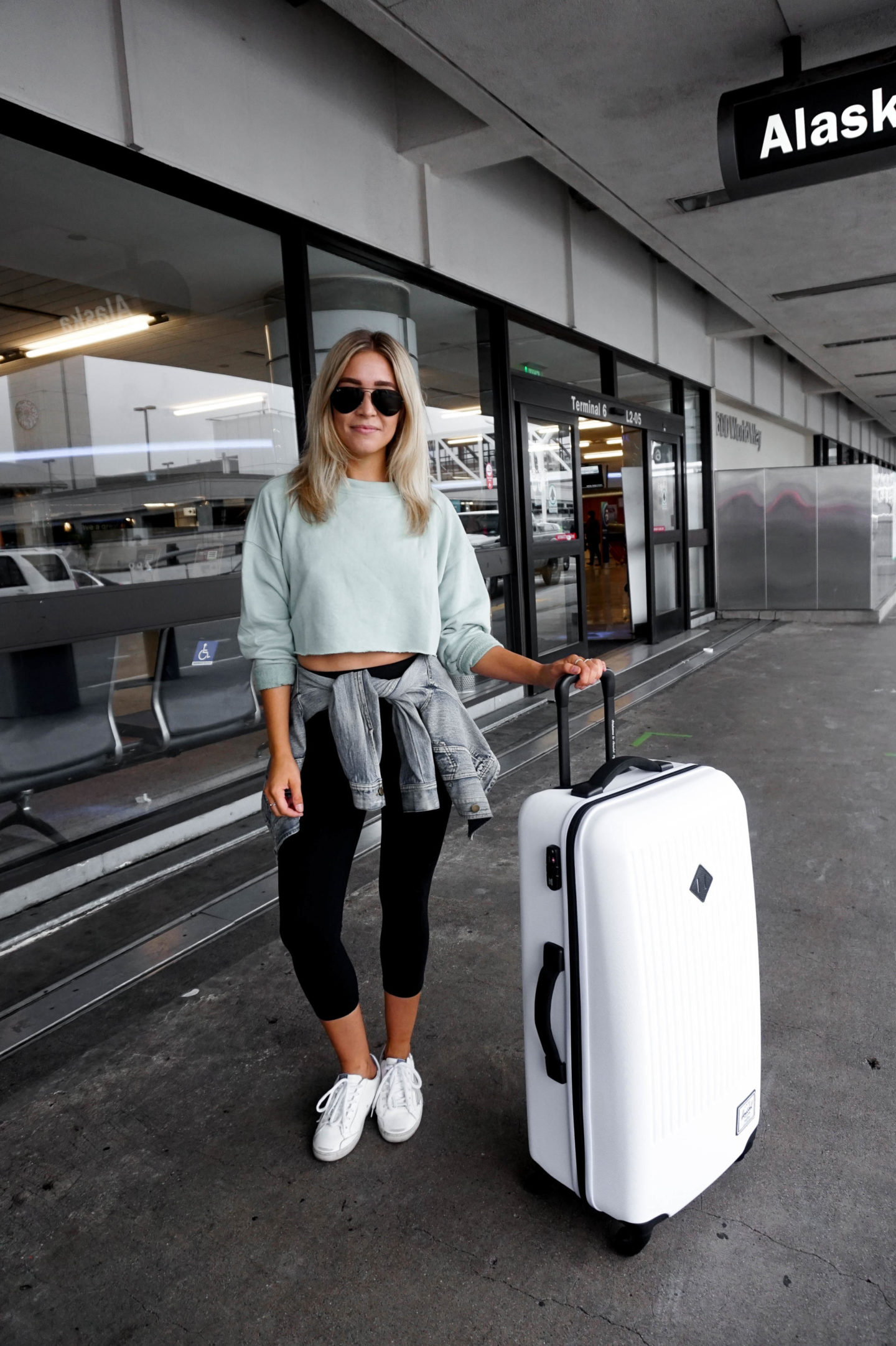 womens airport outift
