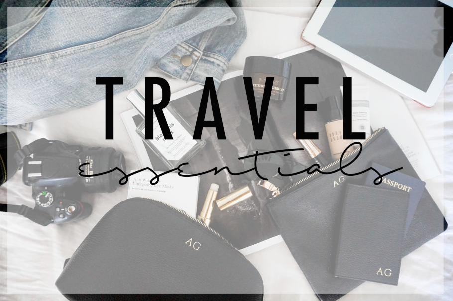 How To Survive a Red-Eye + My 10 Travel Essentials!