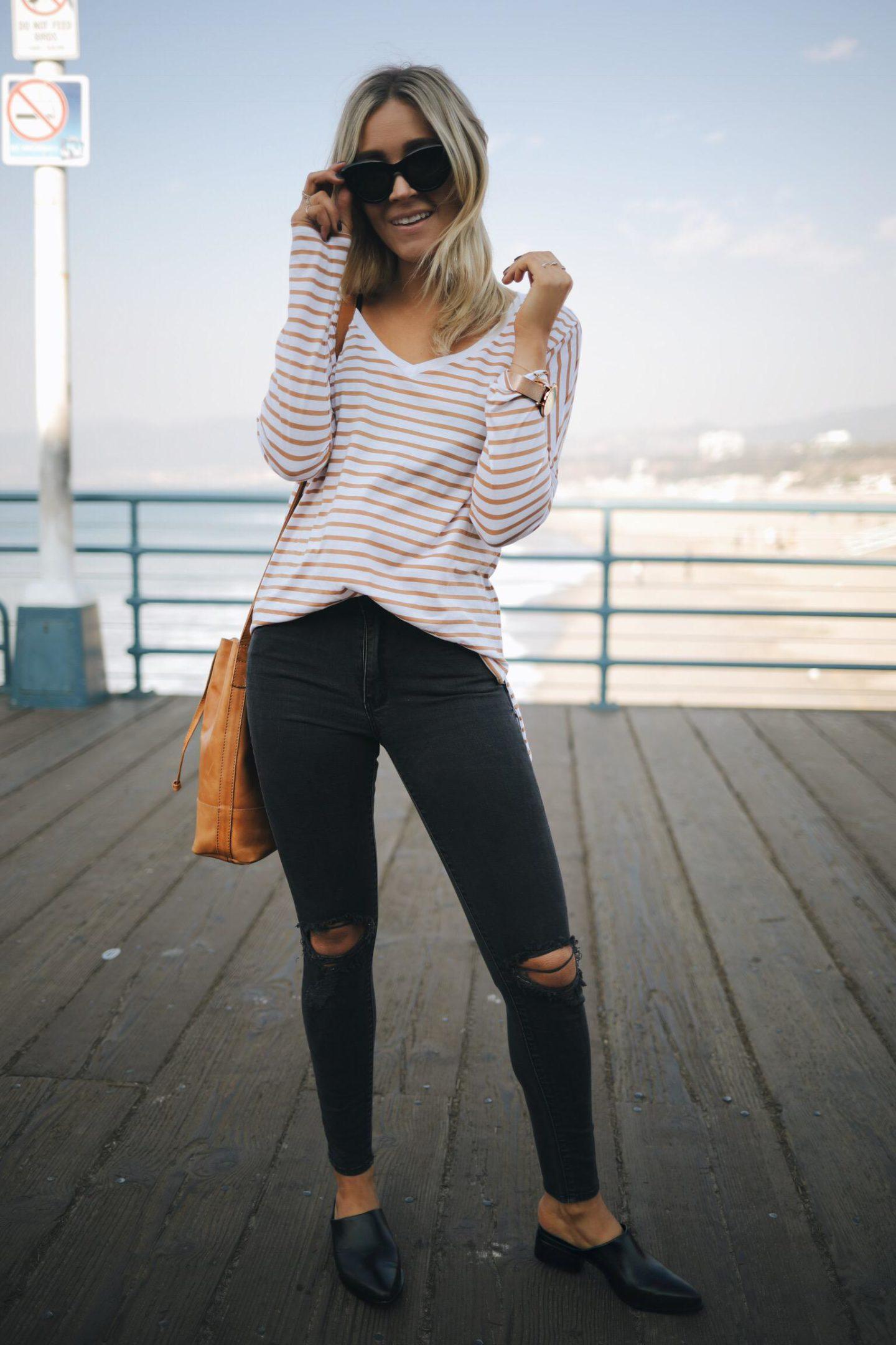 girl's basic tee