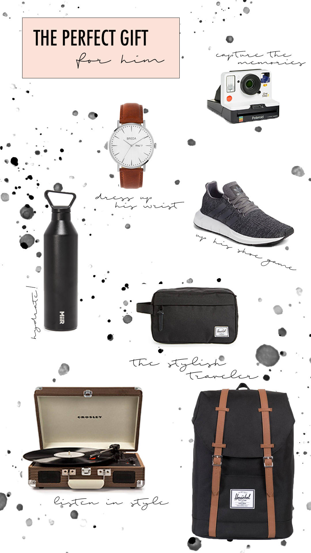 GIFT GUIDE #2: Gifts for your MAN